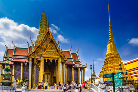 emerald city: the Temple of the Emerald Buddha is best beautiful