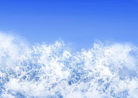 espumante: Antecedentes textura de espuma olas  Foto de archivo