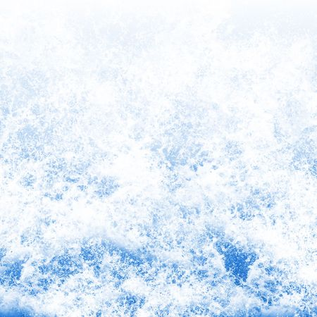foaming: Background texture of foaming ocean waves Stock Photo