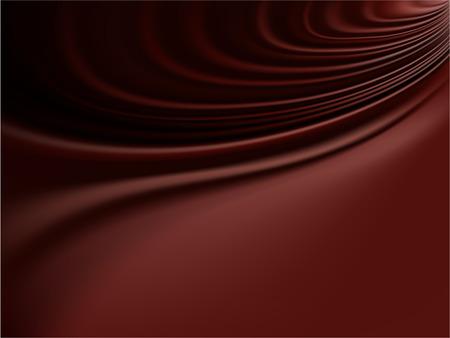 벡터 - 녹은 초콜렛 또는 매끄러운 새틴의 퇴폐적 인 주름 스톡 콘텐츠 - 4553752