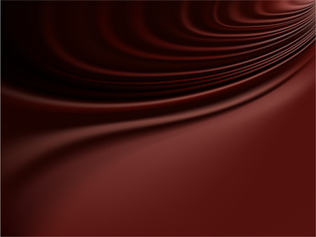 Vector - decadent folds of molten chocolate or smooth satin Vector