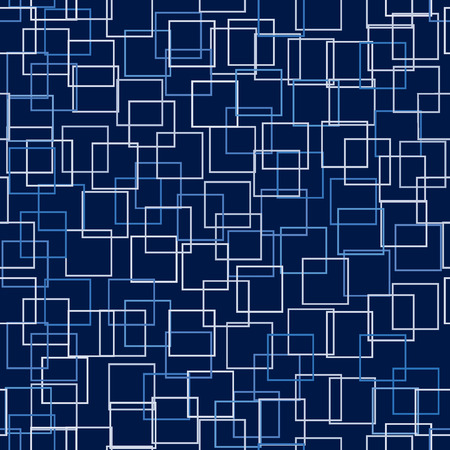 toned: Vector - Seamless pattern with subtly toned squares on a contrasting background for a technology abstract feel