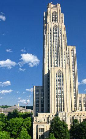 cath�drale: Tir de printemps de la cath�drale de l'apprentissage, � Pittsburgh, Pa