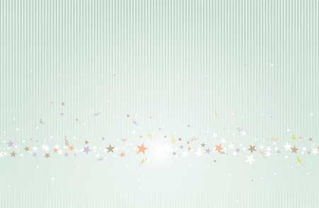 exciting: Background design of stars and lines  Illustration