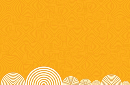 spiralling: Background of spirals in yellow colors.