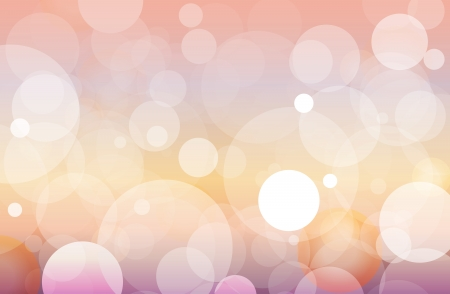 Colorful abstract background of filtered circles. Definitely AI10 file. Illustration