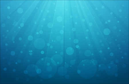 submerged: Background of underwater scene with air bubbles