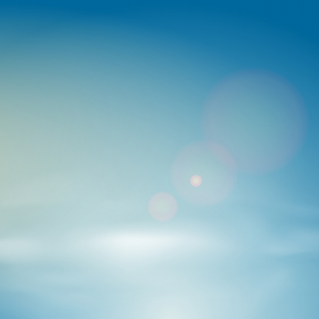 transparencies: background of clear blue sky  Includes transparencies  Illustration