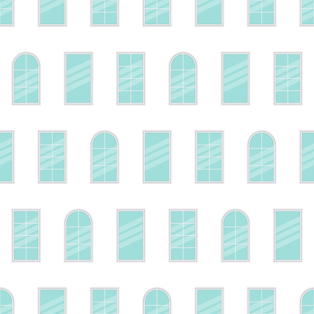 minimal: illustration of clean minimal seamless windows pattern.