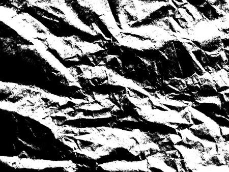 papel filtro: papel de arte textura. hoja en blanco y negro arrugado único papel de filtro para el fondo. Foto de archivo