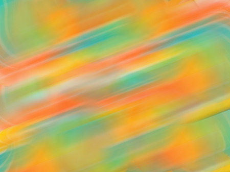 Abstract gradient motion blur background with soft pastel color tones, green, blue, orange, yellow, pink.