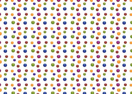 Abstract seamless colorful ball texture design pattern background wallpaper. Gift paper, Wrapping paper or wallpaper design.