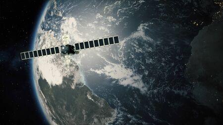 Satellite Telescope Passes Earth