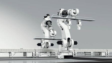 Interacting Industrial Robots