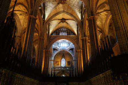 barcelona cathedral: Barcelona cathedral interior