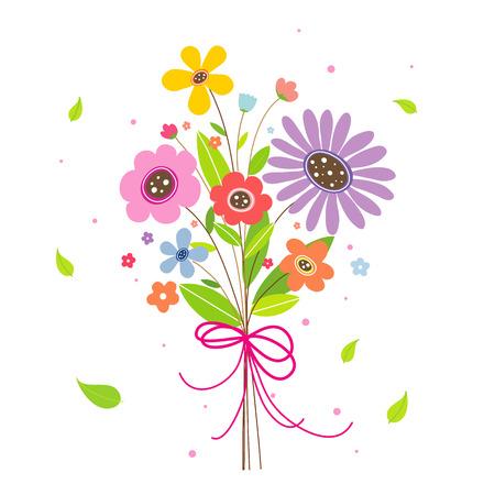lovely: Flower Lovely Vector Illustration