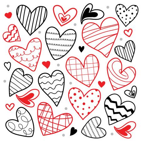sweetheart: Sweetheart I Love You Valentine Heart Cute Cartoon Vector Illustration