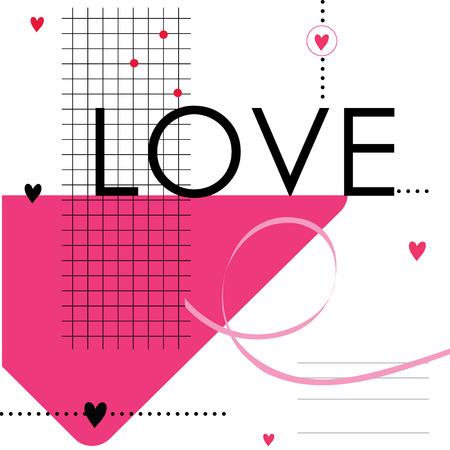 love cute: Heart Love Cute Cartoon Vector