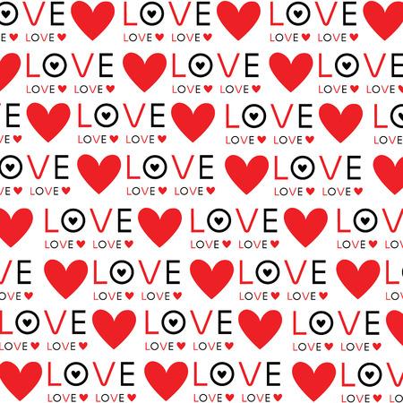 Background Wallpaper Love Heart Text vector Design Illustration