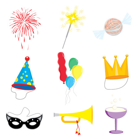 celebration party: Party and Celebration icon collection