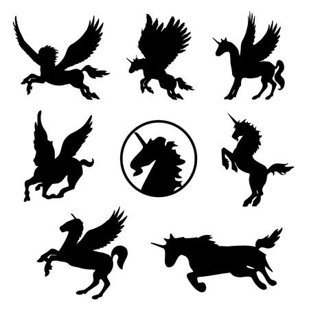 Horse Animal Pet Mammal Tattoo Black Silhouette Vector