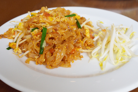 Pad Thai Noodle is Thai Food Style. The one of Thailands national main dish, the popular food in Thailand.