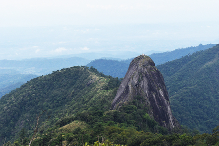 Mountain Landscape Viewpoint in Thailand. Image