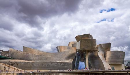 BILBAO, SPAIN, CIRCA AUGUST 2018, Guggenheim