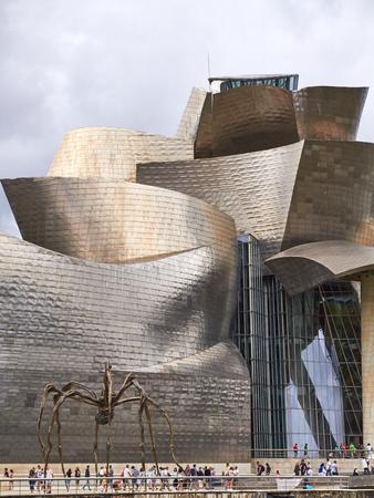 BILBAO, SPAIN, CIRCA AUGUST 2018, Guggenheim spyder