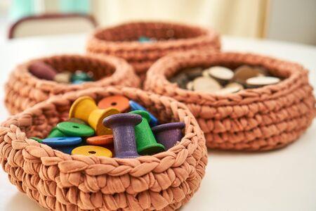 Montessori wooden school exercies proposals