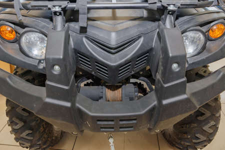 Maintenance of the ATV in the service of an authorized representative.