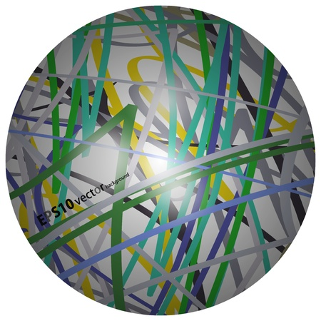 ribbon background Stock Vector - 17133813