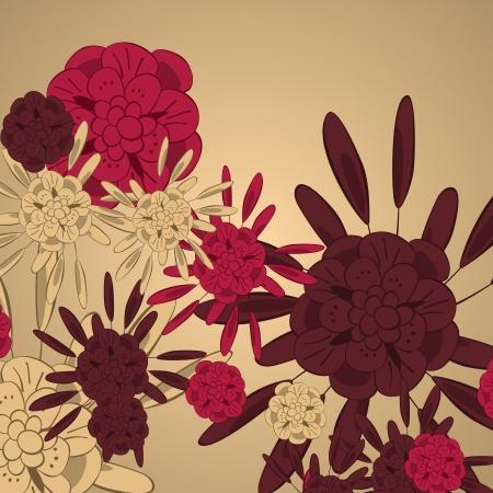 Flower background Stock Vector - 17133719
