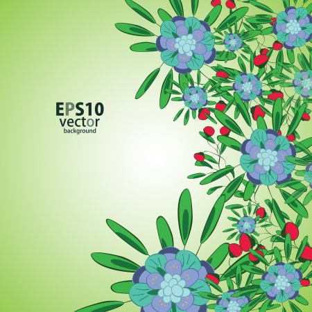 Flower background Stock Vector - 17148279