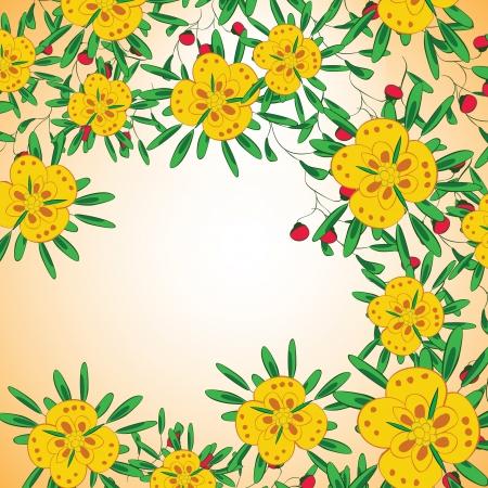 Flower background Stock Vector - 17148321