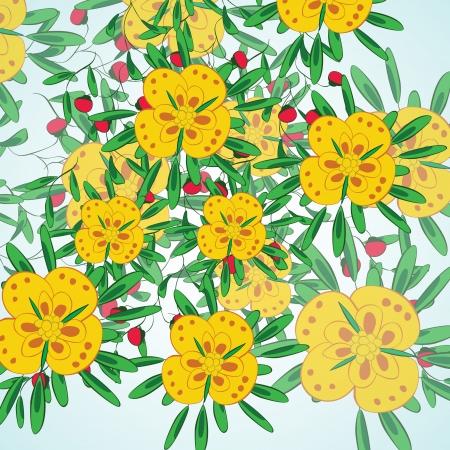 Flower background Stock Vector - 17148314