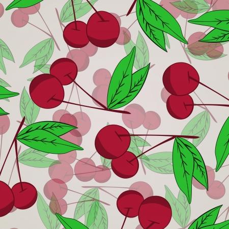 Cherry  background Stock Vector - 17148334