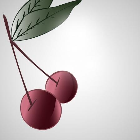 Cherry Stock Vector - 17148347