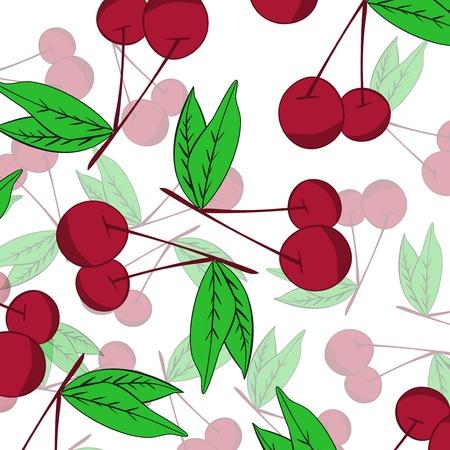 Cherry  background Stock Vector - 17148331
