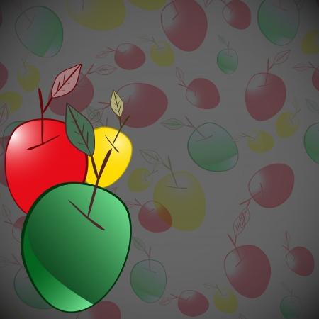 sappy: Apple background