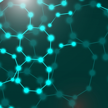alternating organic: DNA  Illustration