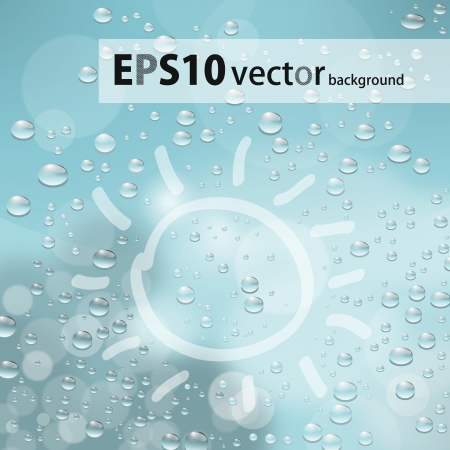 water drops Stock Vector - 17703131