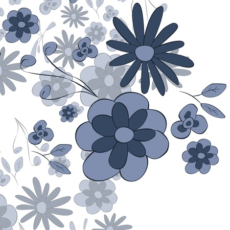 flower background Stock Vector - 18061759