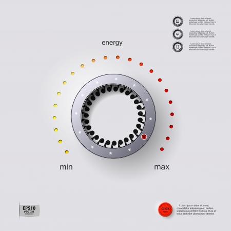 Energy control  Vector