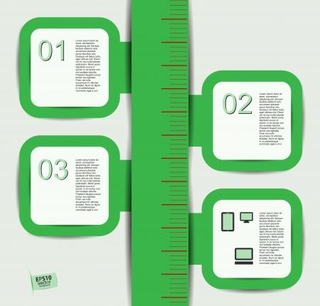 scale for information Illustration