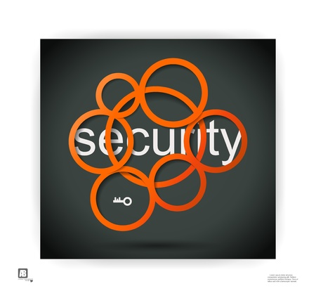 word  security  in circles