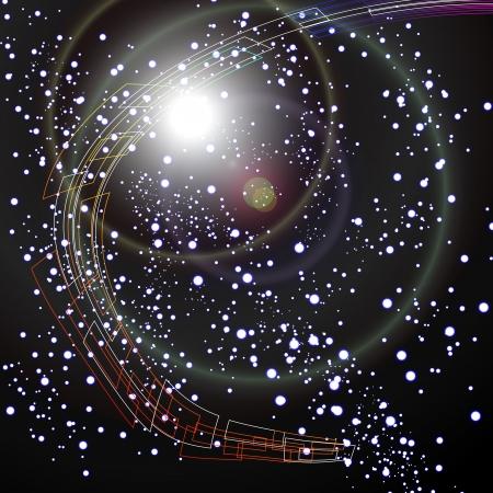 UFO s in Space Stock Vector - 19032272