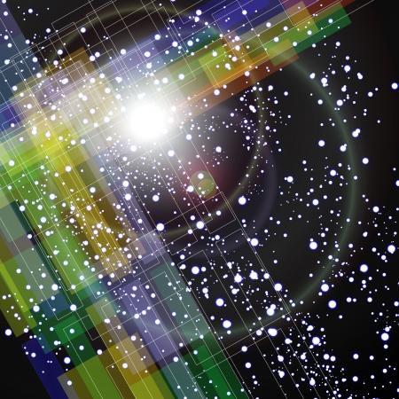 UFO s in Space Stock Vector - 19032274