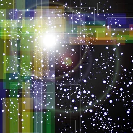 UFO s in Space Stock Vector - 19032273