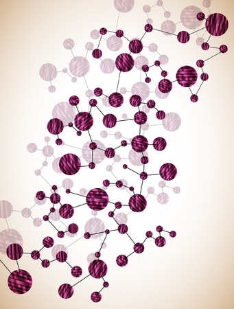 deoxyribonucleic: DNA molecule